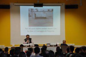 Intervento del nostro referente alla Legalità prof.Gaspare D'Angelo con sue foto originali del 1978